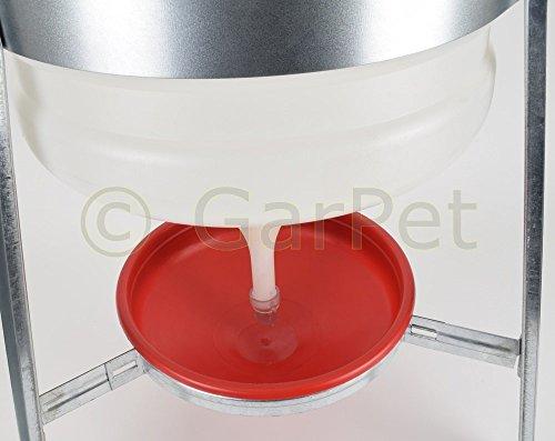 30 Liter Kunststoff Automatische Geflügel Wasser Siphon Hühner Vorrats Tränke - 3