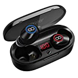 VEATOOL 5.0 Bluetooth Headphones  Binaural Call True Wireless Earbuds 20H...