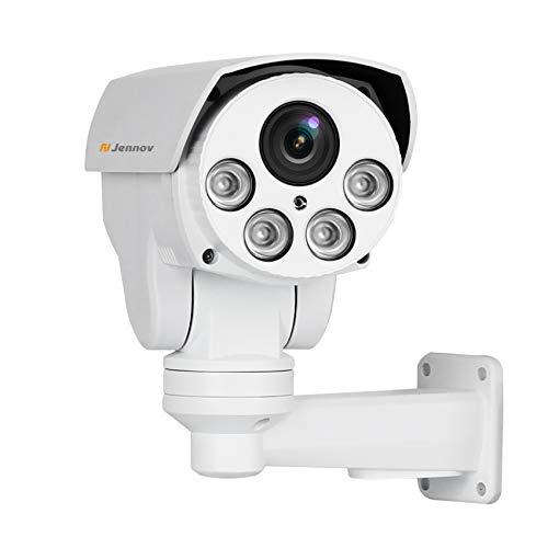 POE Security IP Camera, Jennov HD 5MP (2592X1944) IP PTZ Security Camera H264+ CCTV Home Video &...