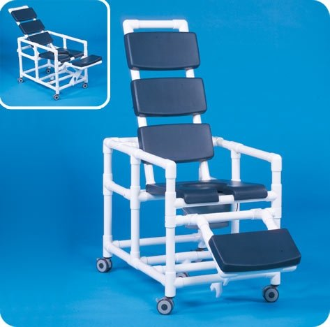 Innovative Products Unlimited SCC280RCN Super Deluxe Reclining Shower Chair Commode