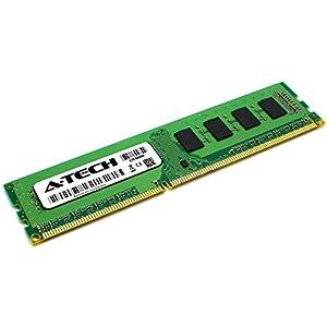 A-Tech 8GB DDR3 1600MHz DIMM PC3-12800 UDIMM Non-ECC 2Rx8 Dual Rank 1.5V CL11 240-Pin Desktop Computer RAM Memory Upgrade Module