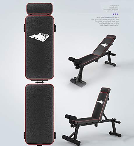 Product Image 6: KKLTDI Utility Folding Bench Roman Chair Exercise Equipment for Home,Gym & Fitness Studio,Adjustable Dumbbell Fitness Bench Black