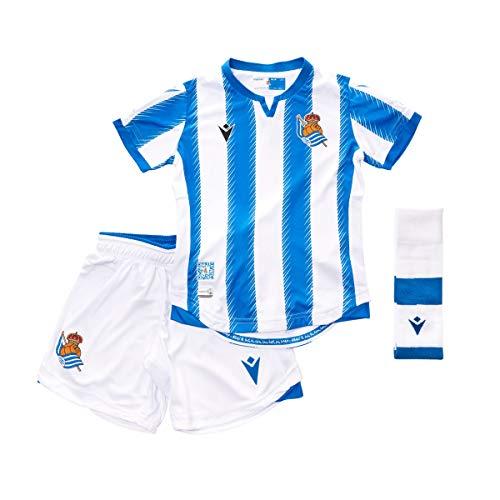 Pantal/ón Largo Blue Macron Real Sociedad Paseo 2019-2020 Ni/ño