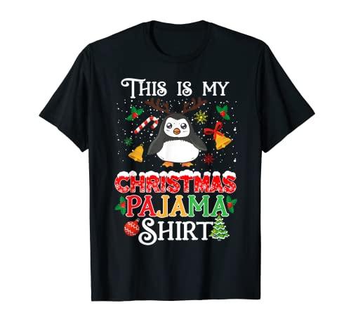 Pijama de Navidad para niños y niñas, este es mi Navidad Camiseta