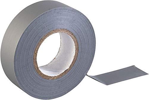 GTSE Cinta aislante eléctrica de PVC gris, 19 mm x 20 m,...