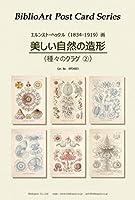 BiblioArt Post Card Series E.ヘッケル『美しい自然の造形(種々のクラゲ②)』 6枚セット(解説付き)