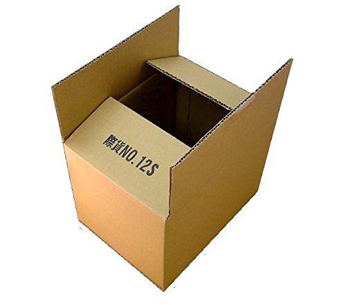 80サイズ シングルダンボールケース12S×1枚 270mm×200mm×200mm 4.5mm厚 宅配などの出荷に最適です