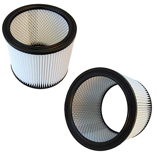 HQRP Cartridge Filter 2-Pack compatible with Shop-Vac 16RT500A 16RTP550A 4040H 4045AH 85L450 85L575 Vacuum Cleaner