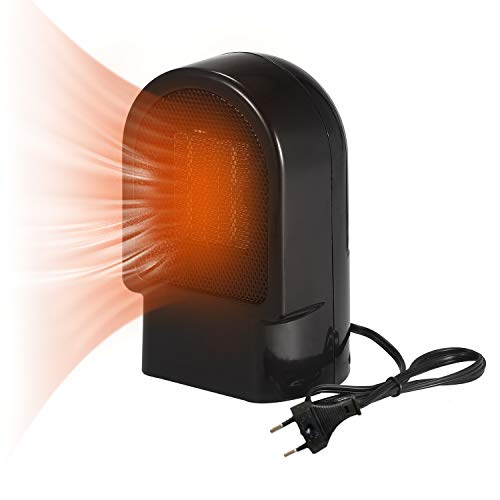 Kedelak Calentador de espacio portátil de cerámica Mini calentador de ventilador eléctrico...