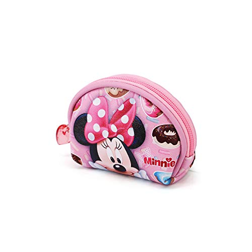 KARACTERMANIA Minnie Mouse Yummy-Porte-monnaie Ovale Pink Taille Unique
