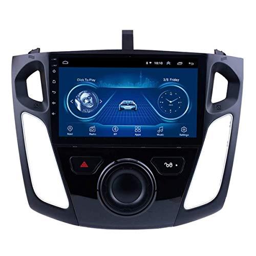 Sistema di Navigazione per Auto, Autoradio Bluetooth 4.0 USB E Vivavoce, Radio FM 4 X 45 W AM, Android 8.1, per Ford Focus 2012-2017, 4G + WiFi: 2 + 32G, DVR TPMS Multimediale