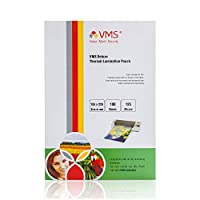 VMS Deluxe Thermal Lamination Pouch 155x225mm 125 Micron for Documents & Certificates