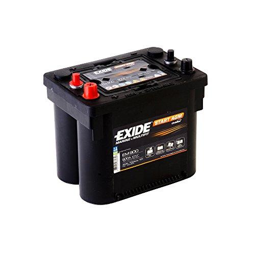 Exide EM1000 - Batería de arranque (50 Ah)
