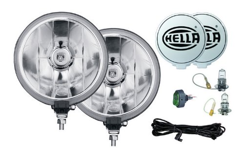 HELLA 005750941 500FF Series Driving Lamp Kit,6',clear