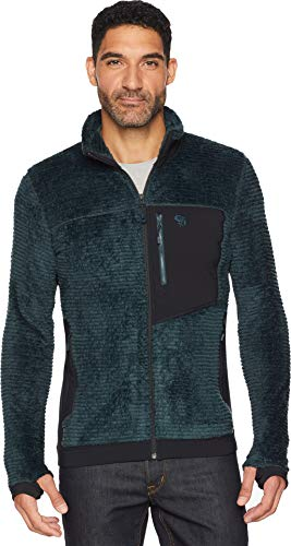 Mountain Hardwear Men's Monkey Man Fleece Jacket - Blue Spruce - X-Large