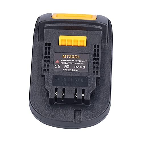 CUTULAMO Adaptador de Base de batería, Adaptador de batería Duradero Retardante de Llama Estructura Estable portátil para Herramientas eléctricas industriales