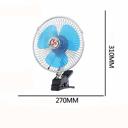 JISHUQICHEFUWU Ventilateur de 10 Pouces 12 V/Ventilateur de Voiture/pièces d'auto/Accessoires d'été de Voiture