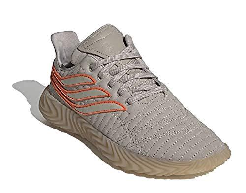 adidas Hombre Sobakov Zapatos de Correr Marrón, 38