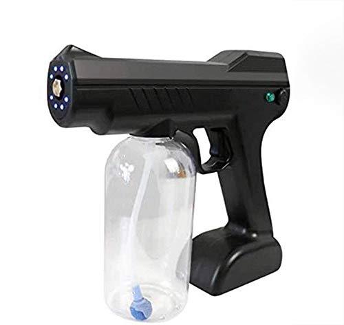 Blaues Licht Desinfektion Nano Steam Gun 800ml Elektrisch ULV Sprühgerät Wiederaufladbar Desinfektion Sterilisation zum Büro Zuhause Schönheit Salon