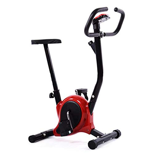 GFF Bicicleta estática de Interior Bicicleta de Ciclo Interior Bicicleta magnética Vertical con Pantalla Digital Asiento Ajustable fácil