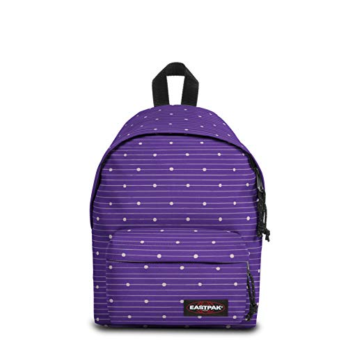 Eastpak Orbit XS Zaino Casual, 10 L, Viola (Little Stripe), 33.5 x 23 x 15 cm