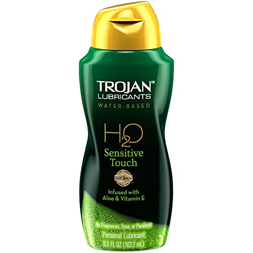 TROJAN Lubricant H2O Sensitive Touch Paraben Free Water based