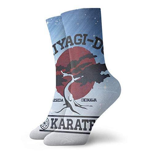 Yuanmeiju calcetines de punto Karate Kid Miyagi Do Men