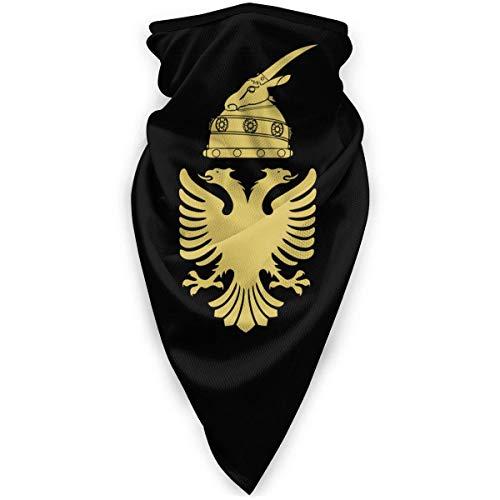 NA Masque Coupe-Vent Bandana Cache-cou Ski Moto Casque Aigle Albanian Noir et Or