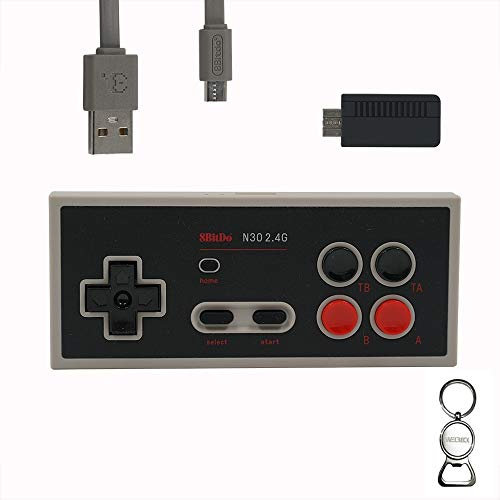 Mcbazel 8Bitdo N30 2.4G Wireless Controller Gamepad para NES Classic Edition con...