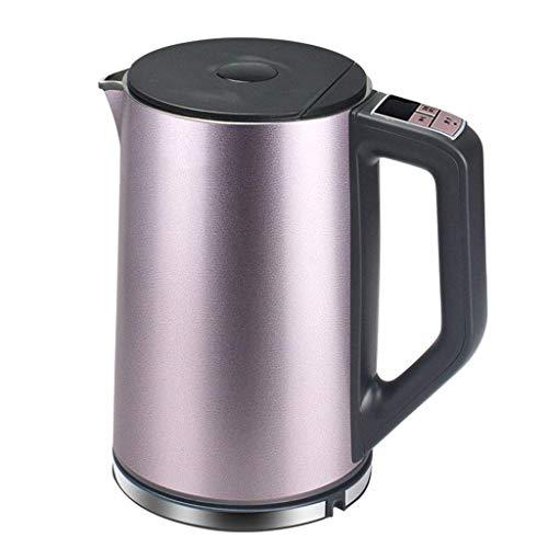 SEESEE.U 1,5 l 4-Stufen-Thermostat für die Zubereitung von Milchtee Wasserkocher, 304 Edelstahl-Schlafsaal mit Wasserkocher