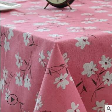 Mantel Minimalista Beige, pequeño y Fresco, Apto para mesas de jardín y hoteles 140x180cm 15