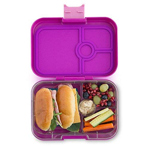 Yumbox Panino Leakproof Bento Lunch Box Container for Kids and Adults (Bijoux Purple)