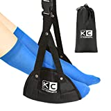 Airplane Foot Hammock (Extra Comfort), Fully Adjustable Airplane and Office Footrest, Foot Sling for Airplane Travel - Foot Sling for Air Travel, Foot Hammock for Air Travel