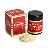 Ginseng Rojo Coreano Puro - 50 g Té Instantáneo N | Panax Ginseng C. A. Meyer