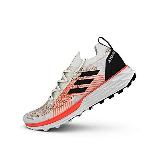 adidas Terrex Two Parley, Zapatillas de Running Hombre, Balcri/NEGBÁS/Rojsol, 42 2/3 EU