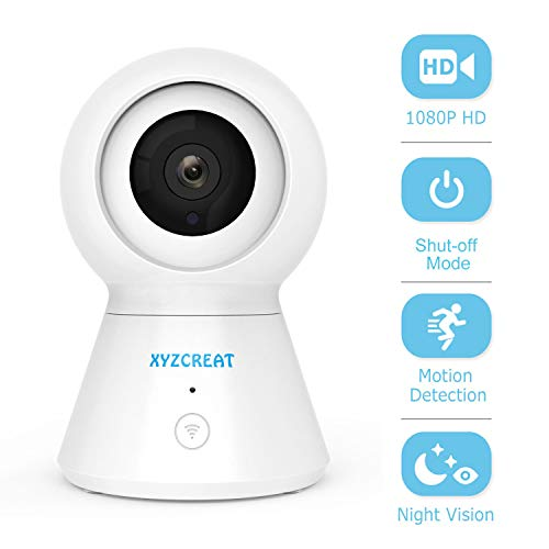Best Prices! Wireless Camera, XYZCREAT 1080p WiFi Home Security Cameras with Shut-Off Mode, 360° Vi...
