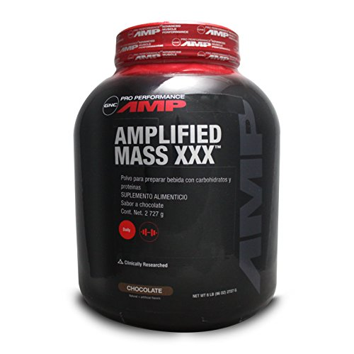 GNC Pro Performance Amplified Mass XXX Chocolate, 6 lbs
