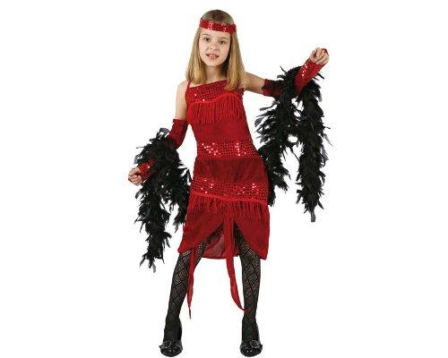 Atosa - Disfraz de años 20 para niña, talla 10-12 años (96586)