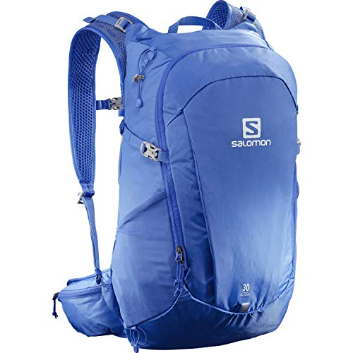 SALOMON Trailblazer 30 Backpack Unisex-Adult, Nebulas Blue, Taglia unica