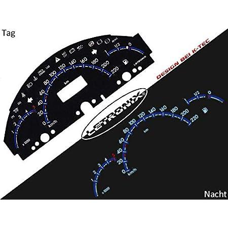 Letronix Plasma Tacho Tachoscheiben Geeignet Für Auto A Klasse W168 0 220km H 5000u Min Auto