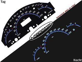 LETRONIX Plasma Tacho Tachoscheiben geeignet für Auto A Klasse W168 0 220Km/h 5000U/Min