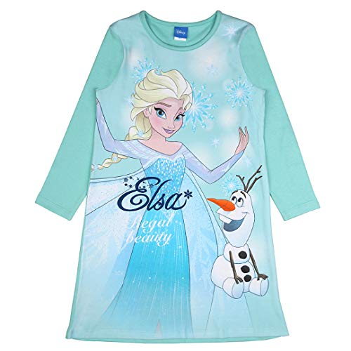 Disney Mädchen Die Eiskönigin Nachthemd, Mint, Größe 98, 3 Jahre