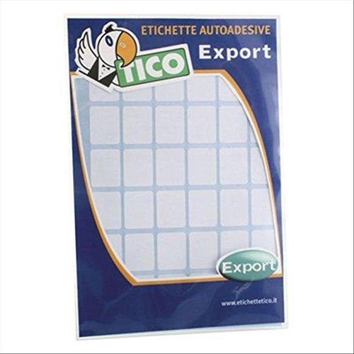 Tico 947900 - Pack 10 hojas etiquetas adhesivas, color