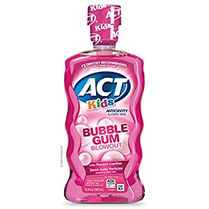 ACT Anticavity Alcohol Free Fluoride Mouthwash