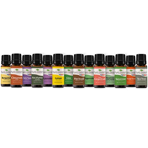 Plant Therapy Top 14 Essential Oil Set, Includes 100% Pure, Undiluted, Therapeutic Grade Oils 10 Ml Each