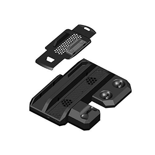 LXCD Soporte para PS4 Soporte para PS4 Soporte de Carga Original para Ventilador de refrigeración Soporte Vertical para Playstation 4 PS4 / Pro/Slim/PS Move/PS VR Accesorios para Juegos