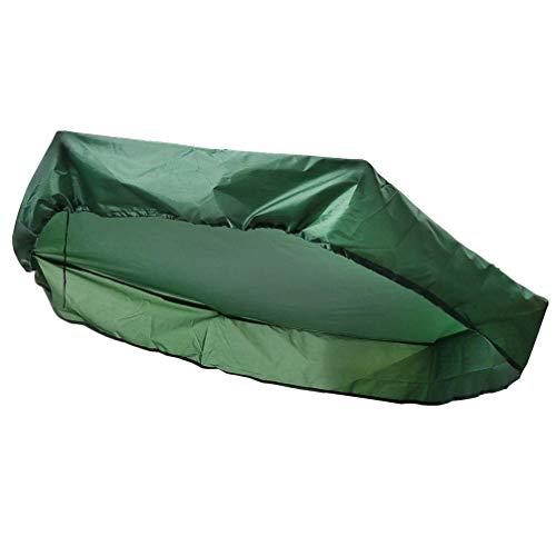 UPKOCH Caja de arena cubierta resistente al polvo impermeable hexagonal lona 230 x 200 cm protección UV tejido Oxford con cordón solar jardín lluvia juguetes protección