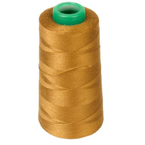 BYFRI 1 gele spoel jeans naaien draad voor naaimachine 20s / 2 goud