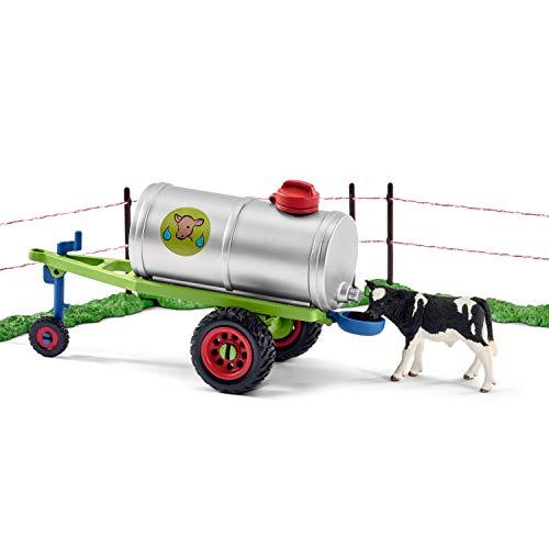 Schleich 41428 – Kuhfamilie auf der Weide, mehrfarbig - 8