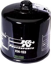 K&N Oil Filter - Cagiva, Ducati (See Specifications) - Black - KN-153